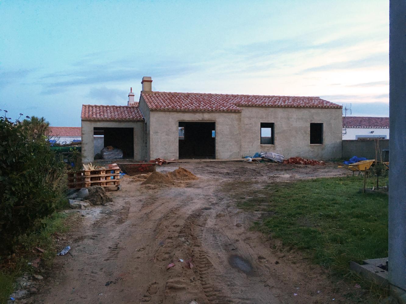 Construction de maçonnerie à Noirmoutier